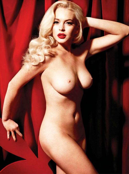 Lindsay Lohan Playboy Shoot 4