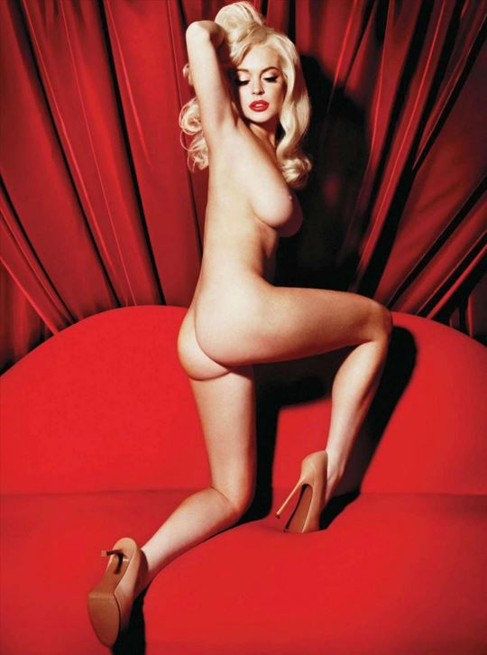 Lindsay Lohan Playboy Shoot 5