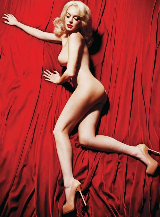 Lindsay Lohan Playboy Shoot 6