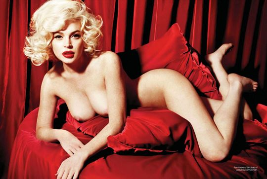 Lindsay Lohan Playboy Shoot 8